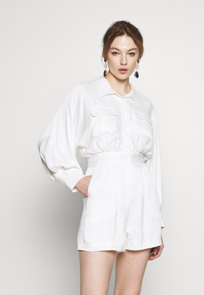 Mossman - TELL IT TO MY HEART PLAYSUIT - Jumpsuit - white