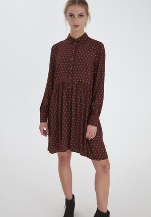 IHCARINA - Shirt dress - cappuccino