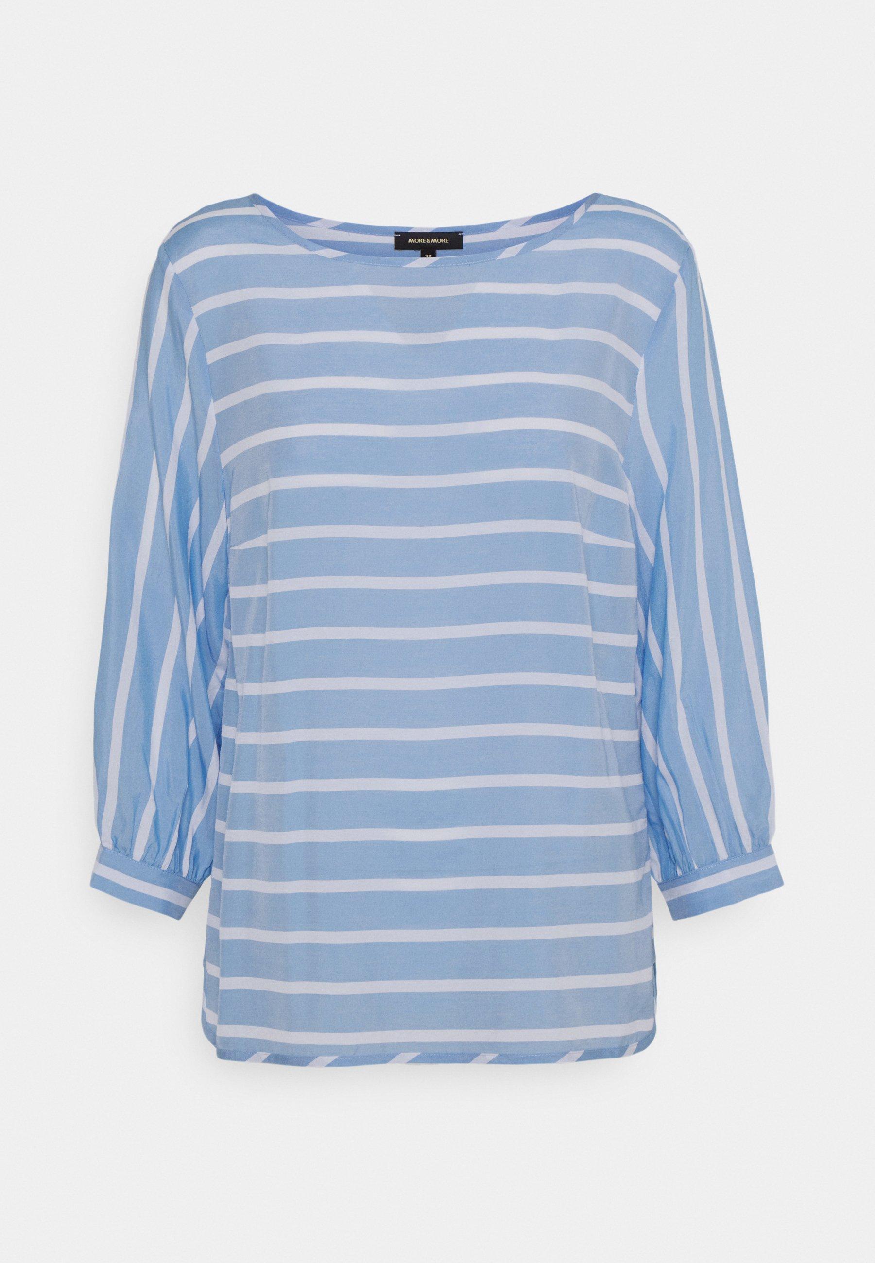 Women Blouse - soft blue