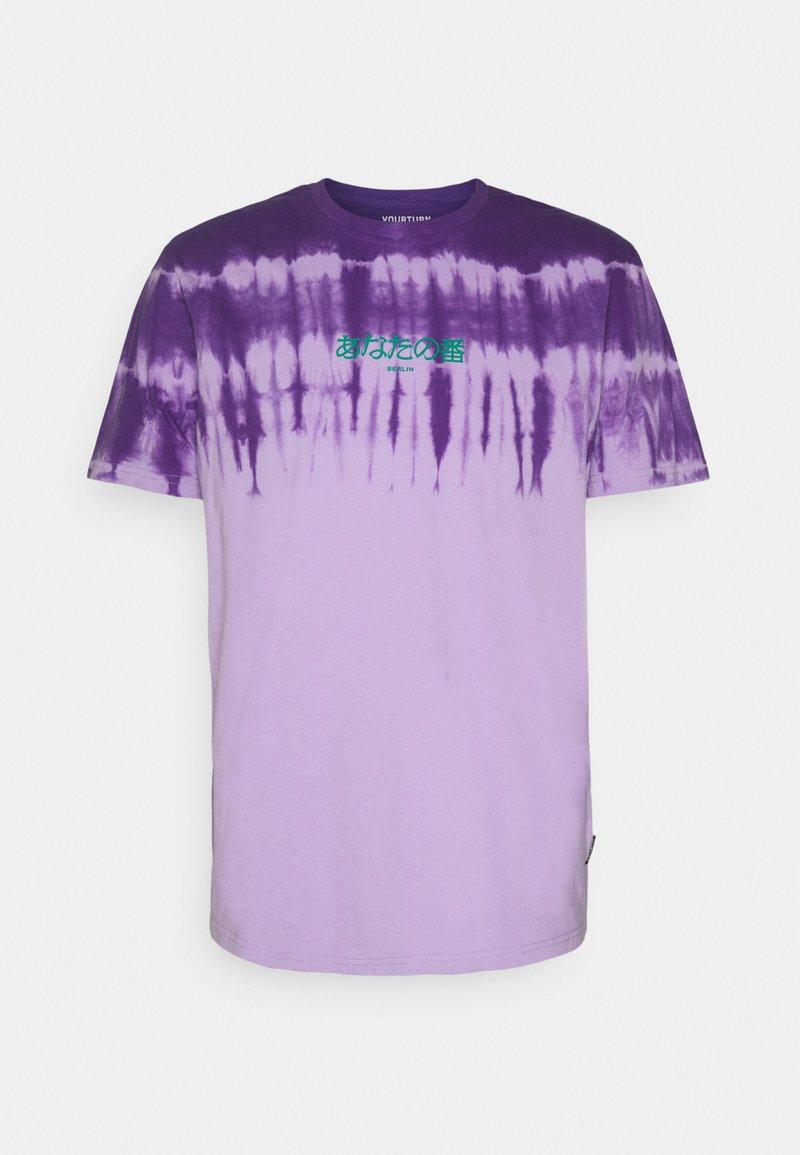 YOURTURN - UNISEX - T-shirt con stampa -  purple