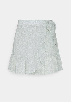 FRILL SKIRT - Mini skirt - green