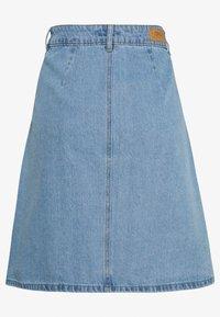 ONLY Tall - ONLFARRAH REG SKIRT 2 PACK - A-line skjørt - light blue denim/black denim - 2