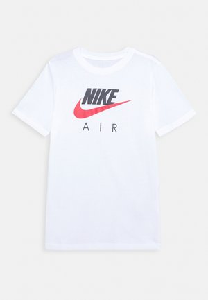 TEE AIR - T-shirt z nadrukiem - white