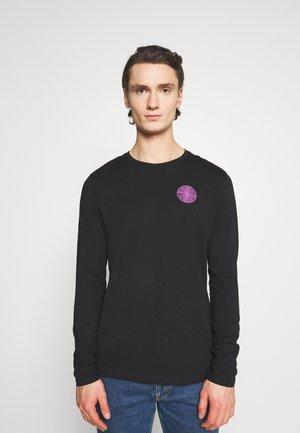 UNISEX - Langærmede T-shirts - black