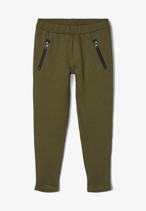 BAUMWOLL - Trousers - ivy green