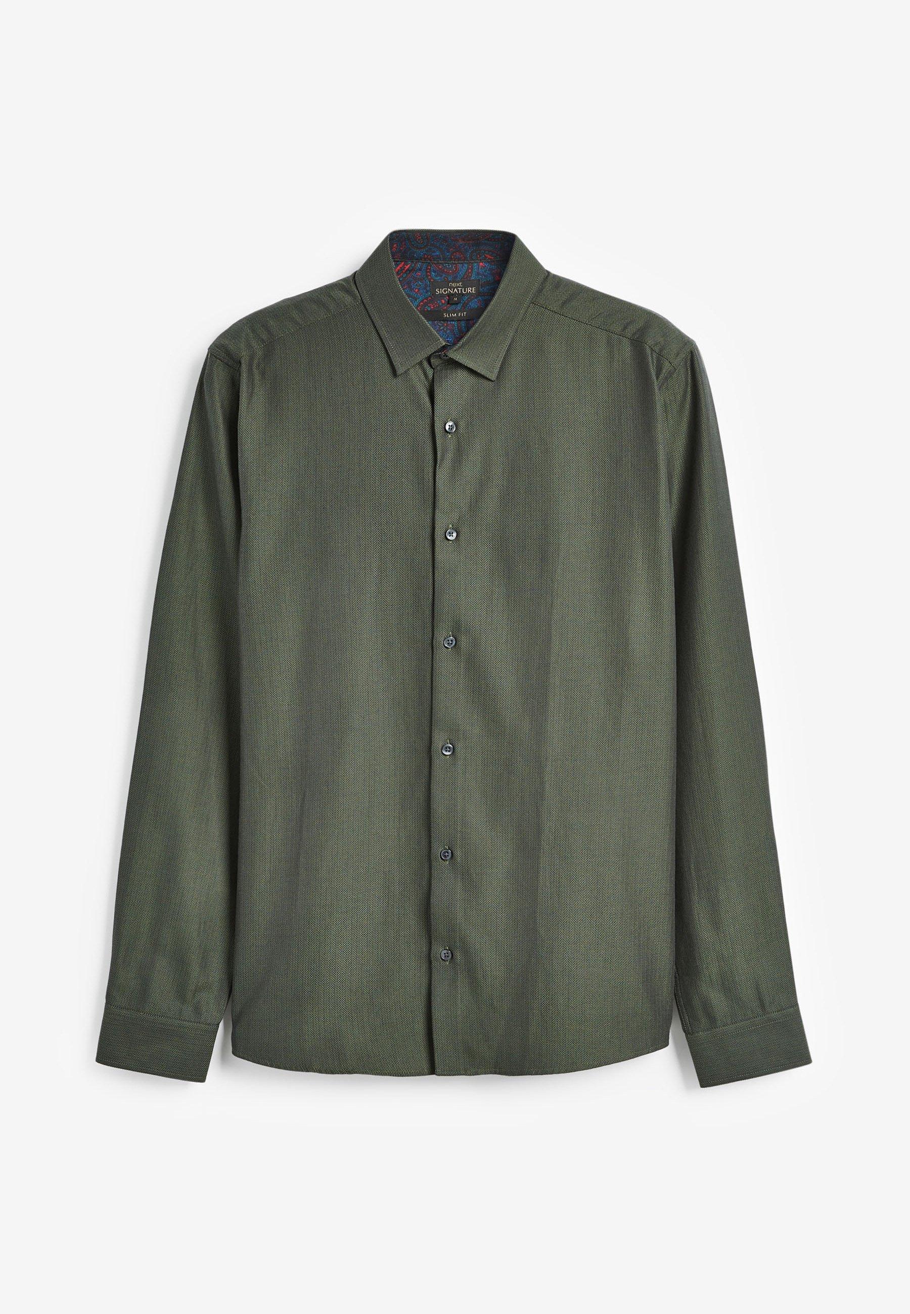 Uomo SIGNATURE HERRINGBONE - Camicia elegante