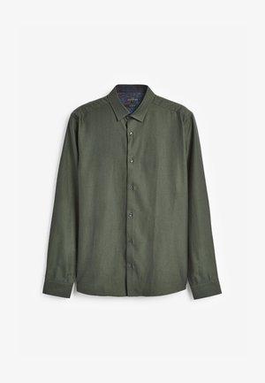 SIGNATURE HERRINGBONE - Formal shirt - green