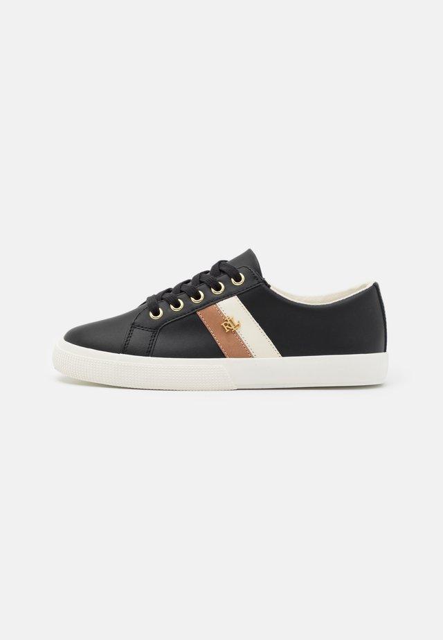 JANSON - Sneakers laag - black/nude/vanille