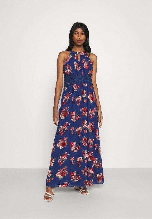VIMILINA FLOWER DRESS - Abito da sera - mazarine blue