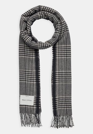 SCARF WOVEN STRUCTURED HOUNDSTOOT - Sjal - dark blue