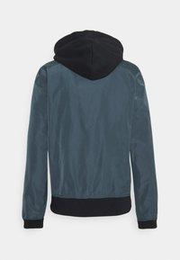 Hollister Co. - BOMBER - Summer jacket - navy - 1