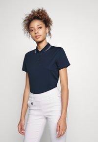 Nike Golf - DRY VICTORY - Sports shirt - college navy/white/white - 0