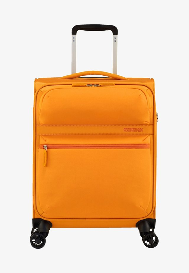 MATCHUP - Wheeled suitcase - mustard yellow