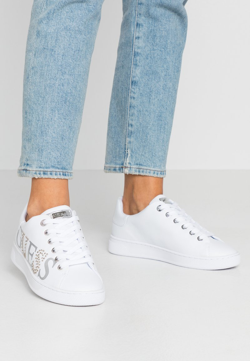 Guess - RIDERR - Sneakers laag - white