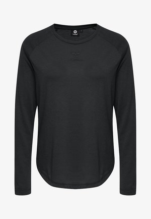 VANJA  - Long sleeved top - black