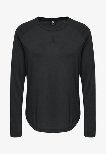 VANJA  - Long sleeved top - black