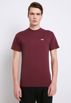LEFT CHEST LOGO TEE - T-shirt basic - port royale/white