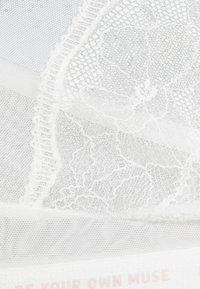 Women Secret - MESSAGE TRIANGULAR - Triangle bra - off white standard - 2