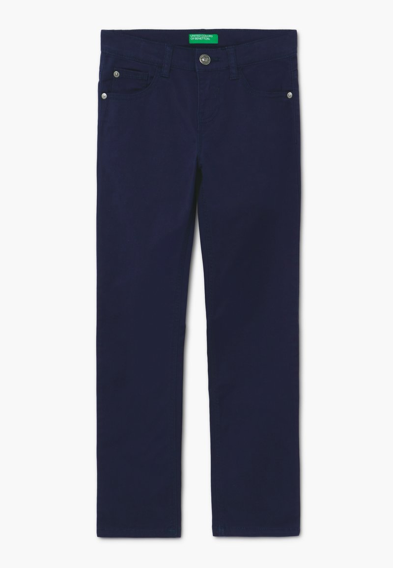 Benetton - Džíny Slim Fit - dark blue