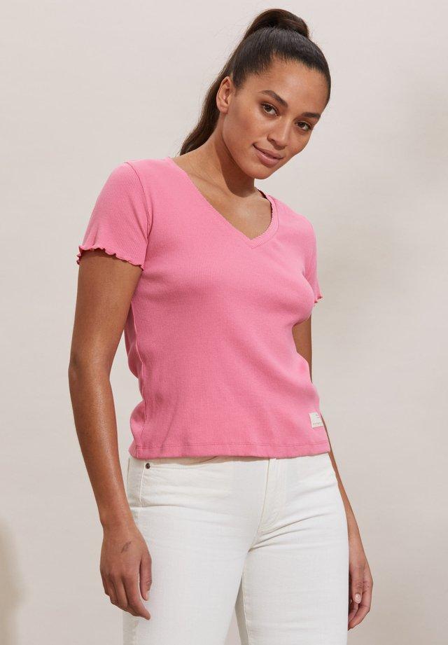 T-shirt basic - pink confetti