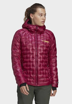 ICESKY COLD.RDY HOODED DOWN - Daunenjacke - purple