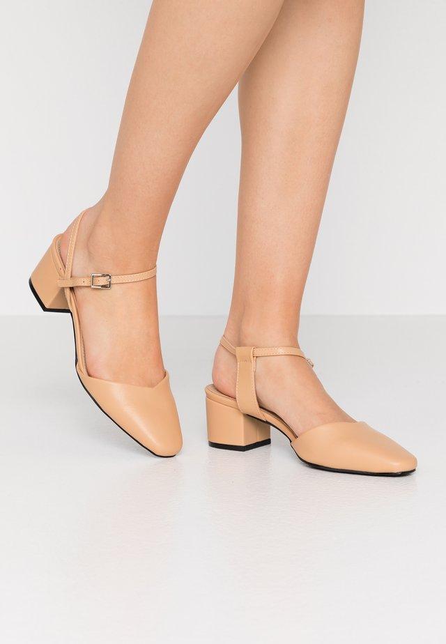 KEELEY - Classic heels - beige