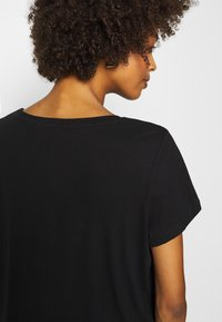 Anna Field - T-shirts - black - 5