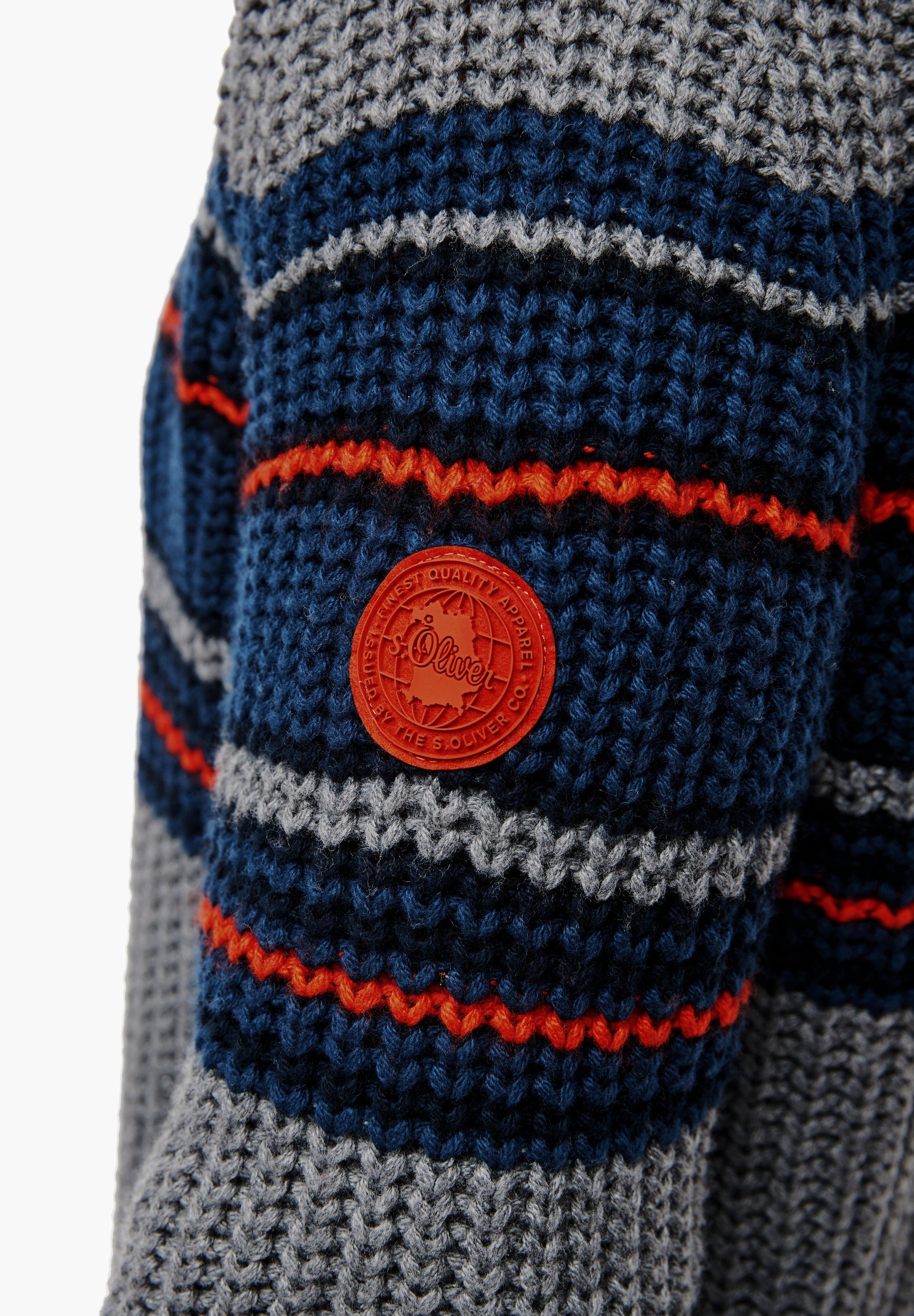 Homme MIT STREIFEN-DETAILS - Pullover