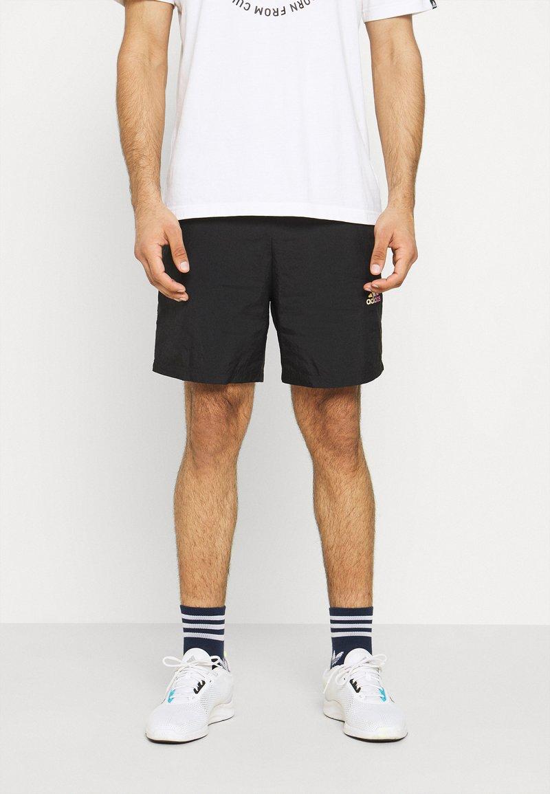 adidas Performance - FAVS  - Krótkie spodenki sportowe - black