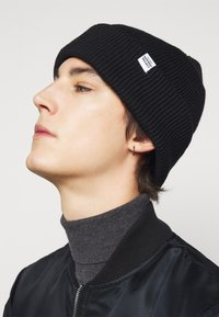 GARMENT PROJECT - BEANIE UNISEX - Čepice - black - 0