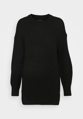 LONGSLEEVE ROUND NECK - Jumper - black