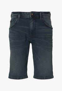 TOM TAILOR DENIM - Denim shorts - blue-black denim - 6