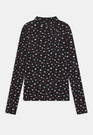 GIRLS - Long sleeved top - schwarz