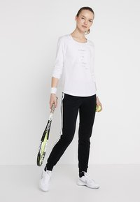 Limited Sports - SWEATPANT SAMU - Tracksuit bottoms - black/white - 1