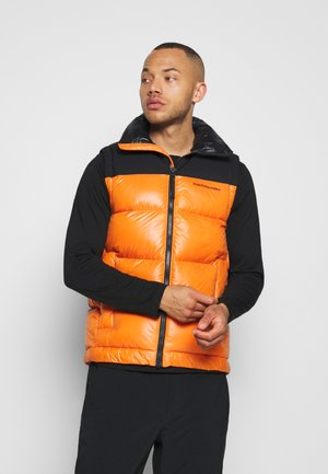 RIVEL VERNIS VEST - Waistcoat - orange altitude