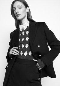 Victoria Beckham - DOUBLE BREASTED PEA COAT - Blazer - navy - 3