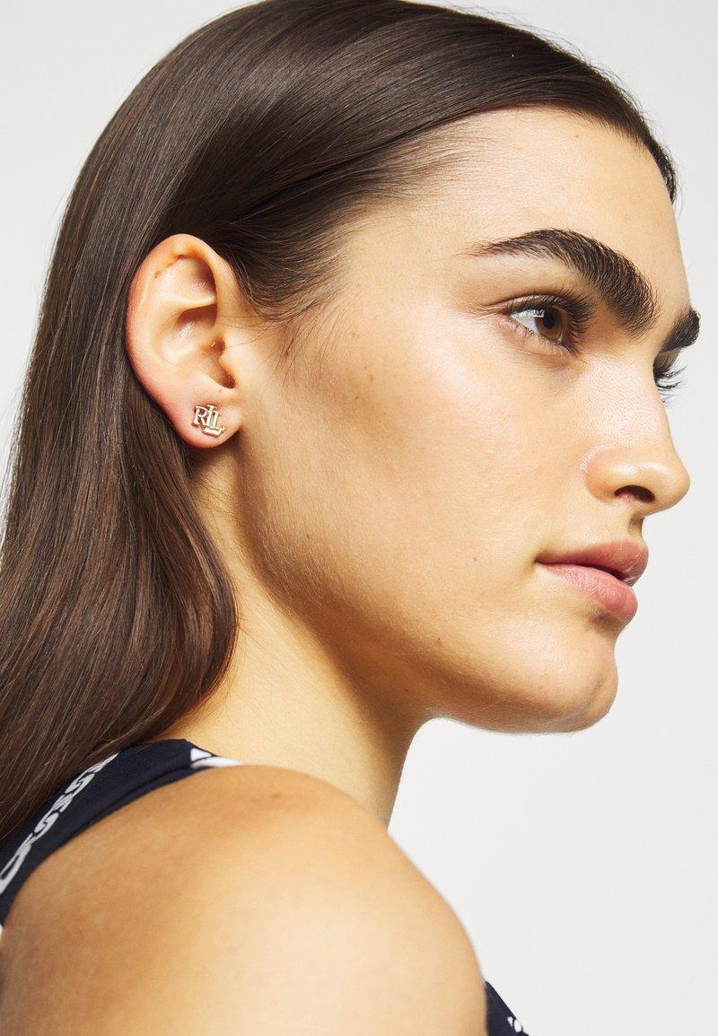 Lauren Ralph Lauren - TAYLORPE LOGO STUD - Boucles d'oreilles - gold-coloured
