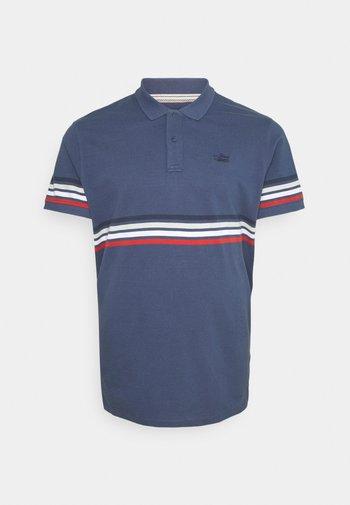 Polo shirt - dark denim