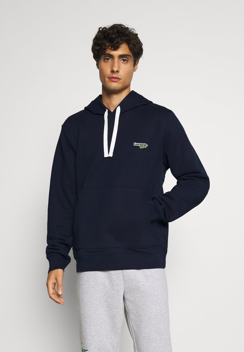 Lacoste - Bluza z kapturem - marine