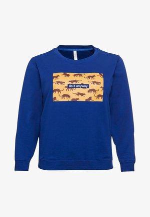 Sweatshirt - ultramarin