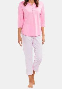 Rösch - 7/8 LENGTH - Pyjama bottoms - aurora pink - 1
