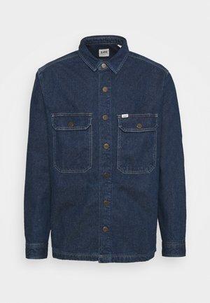 WORKWEAR OVERSHIRT - Denim jacket - stone bolton