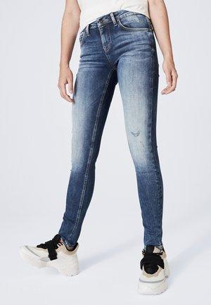 KAR-LIE - Jeans Skinny Fit - blue used destroyed