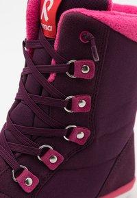 Reima - REIMATEC FREDDO UNISEX - Winter boots - deep purple - 5