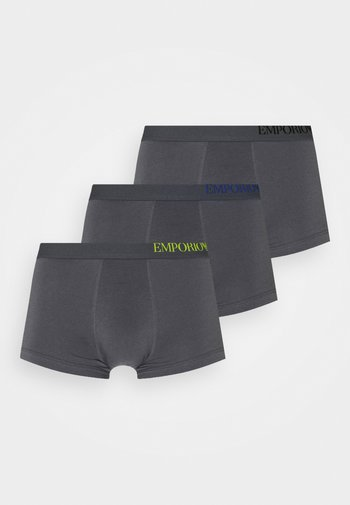 TRUNK 3 PACK - Boxerky - anthracite