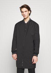 HUGO - Płaszcz wełniany /Płaszcz klasyczny - black - 0