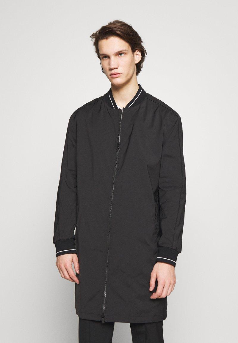 HUGO - Płaszcz wełniany /Płaszcz klasyczny - black