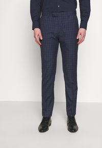 Limehaus - CHECK SUIT - Oblek - navy - 4