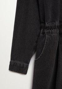 Mango - LUNA - Denim dress - black denim - 7