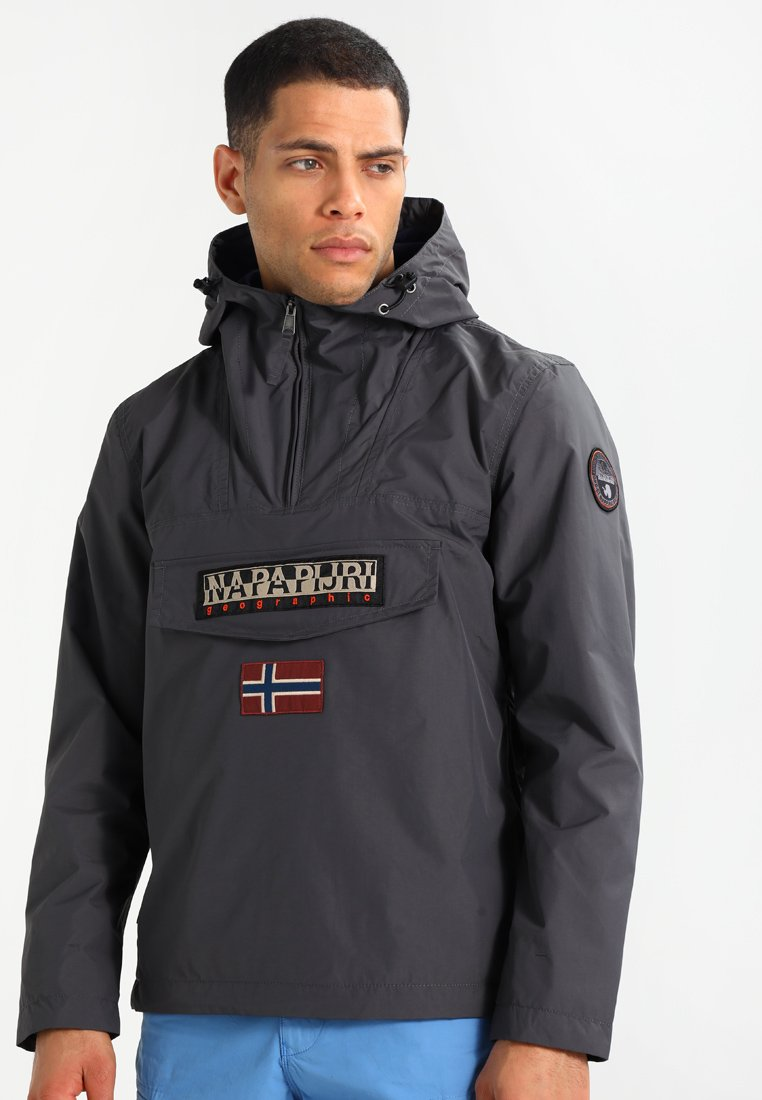 Napapijri - RAINFOREST SUMMER - Windbreaker - dark grey